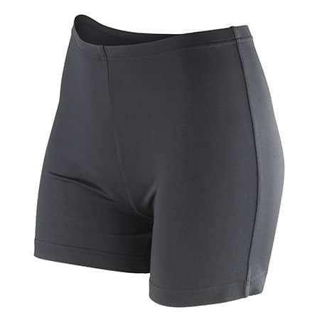Women`s Impact Softex® Shorts in Black von SPIRO (Artnum: RT283F