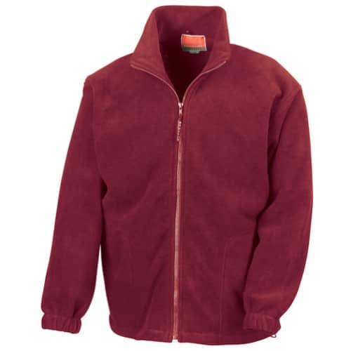 Herren Sweatjacke Polartherm Quilted Winter Fleece von Result # sweatshirt jacke