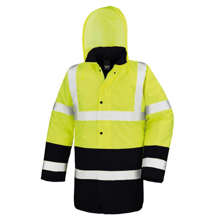 Motorway 2-Tone Safety Coat von Safe-Guard (Artnum: RT452