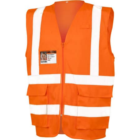Executive Cool Mesh Safety Vest von Safe-Guard (Artnum: RT479