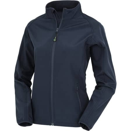 Womens Recycled 2-Layer Printable Softshell Jacket von Result Genuine Recycled (Artnum: RT901F