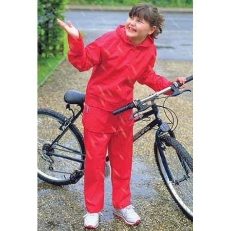 Junior Waterproof Jacket & Trouser Set von Result (Artnum: RT95J