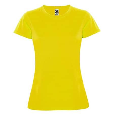 Montecarlo Woman T-Shirt in Yellow von Roly (Artnum: RY0423
