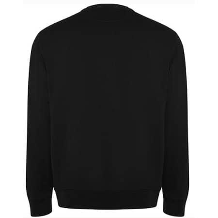Batian Organic Sweatshirt in Black 02 von Roly Eco (Artnum: RY1071