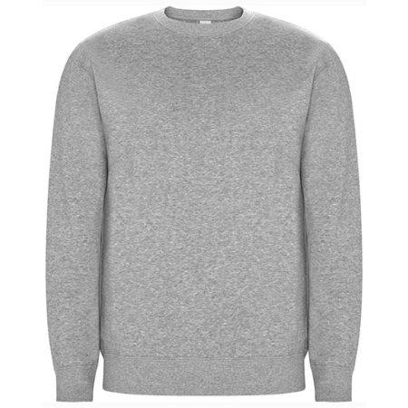 Batian Organic Sweatshirt in Heather Grey 58 von Roly Eco (Artnum: RY1071