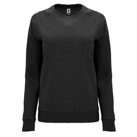 Annapurna Woman Sweatshirt in Black von Roly (Artnum: RY1111