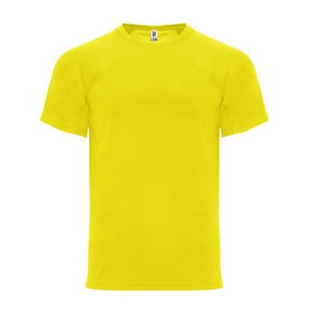 Monaco T-Shirt in Yellow von Roly (Artnum: RY6401