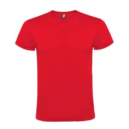 Atomic 150 T-Shirt in Red von Roly (Artnum: RY6424
