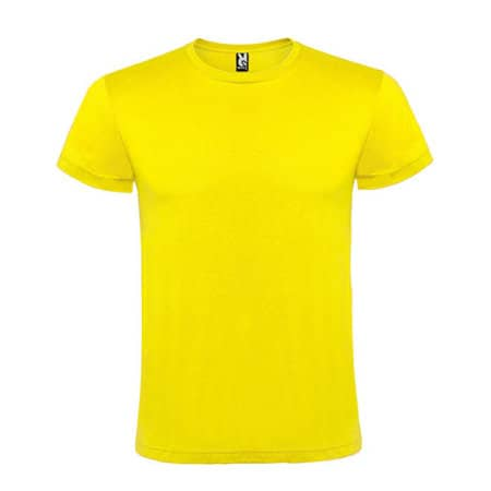 Atomic 150 T-Shirt in Yellow von Roly (Artnum: RY6424