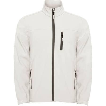 Antartida Softshell Jacket in Pearl White von Roly (Artnum: RY6432