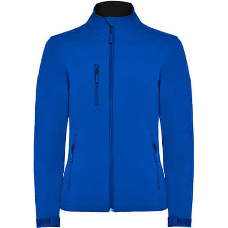 Nebraska Woman Softshell Jacket in Royal Blue von Roly (Artnum: RY6437