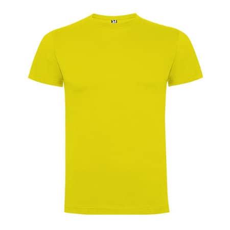 Dogo Premium T-Shirt Men in Yellow von Roly (Artnum: RY6502