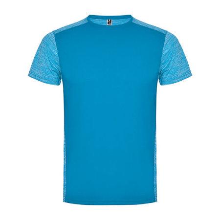 Zolder T-Shirt in Turquoise|Heather Turquoise von Roly (Artnum: RY6653