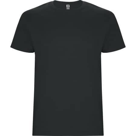 Stafford Kids T-Shirt in Black 02 von Roly (Artnum: RY6681K