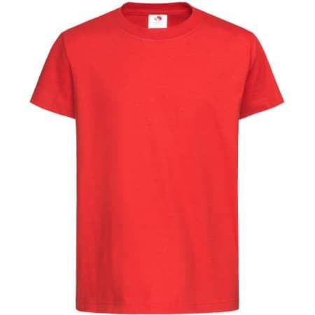 Classic-T for children in Scarlet Red von Stedman® (Artnum: S140K