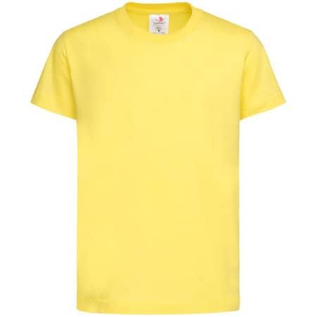 Classic-T for children in Yellow von Stedman® (Artnum: S140K