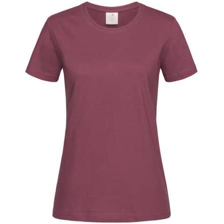 Classic-T for women in Burgundy Red von Stedman® (Artnum: S141