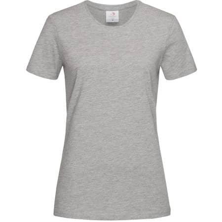Classic-T for women in Grey Heather von Stedman® (Artnum: S141