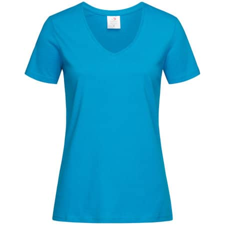 Classic-T V-Neck for women von Stedman® (Artnum: S279