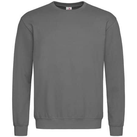Sweatshirt in Real Grey von Stedman® (Artnum: S320