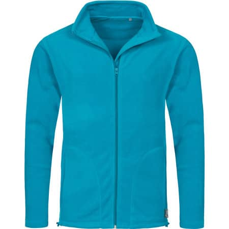 Active Fleece Jacket in Hawaii Blue von Stedman® (Artnum: S5030