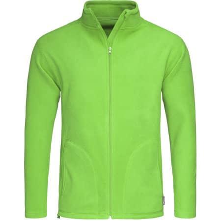 Active Fleece Jacket in Kiwi Green von Stedman® (Artnum: S5030