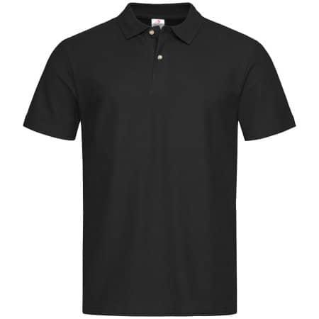 Short Sleeve Polo in Black Opal von Stedman® (Artnum: S510