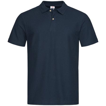 Short Sleeve Polo in Blue Midnight von Stedman® (Artnum: S510