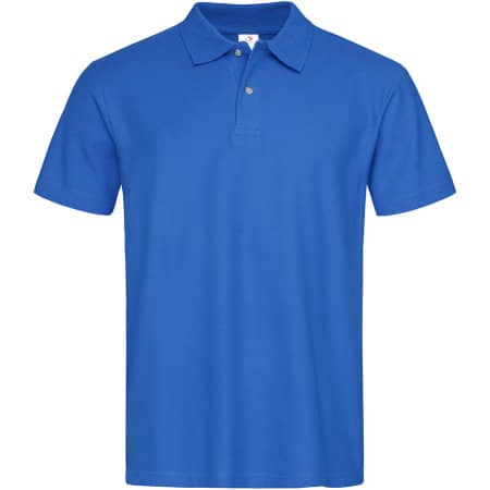 Short Sleeve Polo in Bright Royal von Stedman® (Artnum: S510