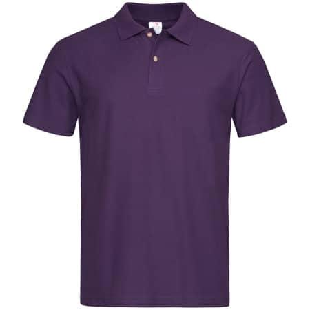 Short Sleeve Polo in Deep Berry von Stedman® (Artnum: S510