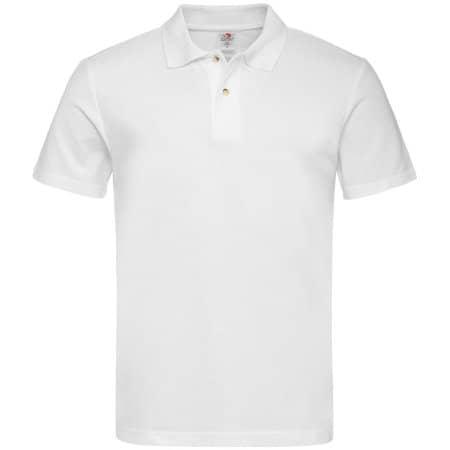 Short Sleeve Polo in White von Stedman® (Artnum: S510