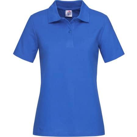 Short Sleeve Polo for women in Bright Royal von Stedman® (Artnum: S519