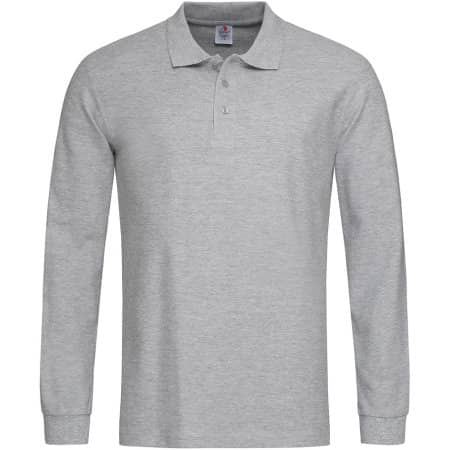 Long Sleeve Polo von Stedman® (Artnum: S540