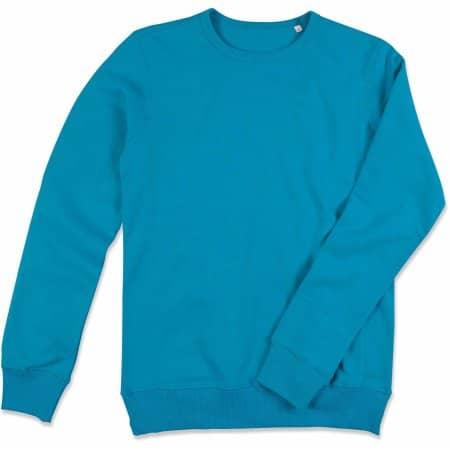Active Sweatshirt in Hawaii Blue von Stedman® (Artnum: S5620