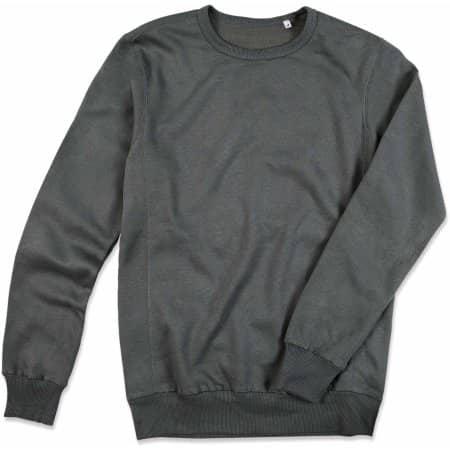 Active Sweatshirt in Slate Grey (Solid) von Stedman® (Artnum: S5620