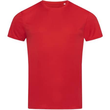 Active Sport-T Crew Neck in Crimson Red von Stedman® (Artnum: S8000