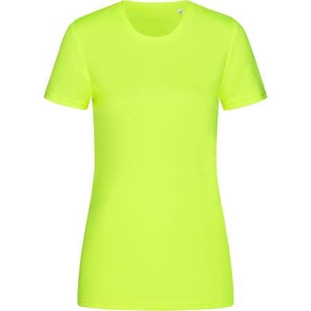 Active Sports-T Crew Neck for women in Cyber Yellow von Stedman® (Artnum: S8100