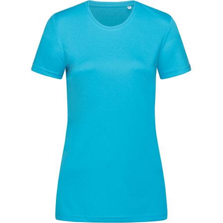 Active Sports-T Crew Neck for women in Hawaii Blue von Stedman® (Artnum: S8100