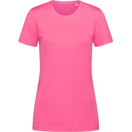 Active Sports-T Crew Neck for women in Sweet Pink von Stedman® (Artnum: S8100