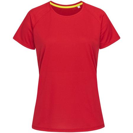 Active 140 Raglan for women in Crimson Red von Stedman® (Artnum: S8500
