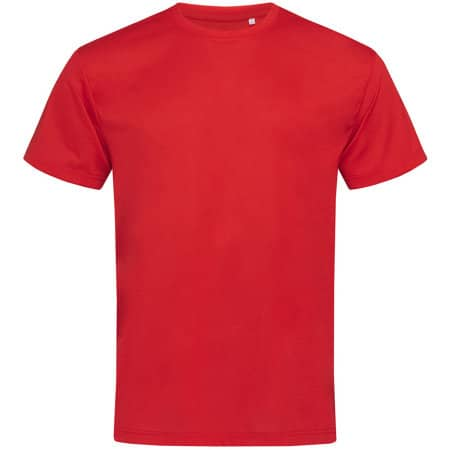 Active Cotton Touch Crew Neck in Crimson Red von Stedman® (Artnum: S8600