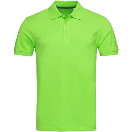 Harper Polo Short Sleeve in Green Flash von Stedman® (Artnum: S9060