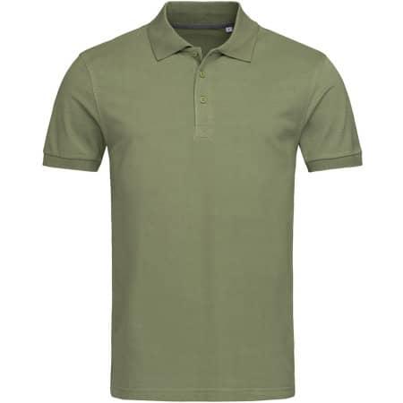 Harper Polo Short Sleeve in Military Green von Stedman® (Artnum: S9060