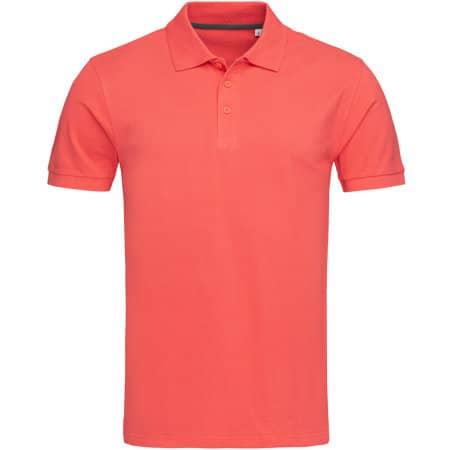 Harper Polo Short Sleeve in Salmon Pink von Stedman® (Artnum: S9060