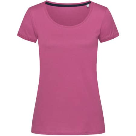 Megan Crew Neck for women in Cupcake Pink von Stedman® (Artnum: S9120