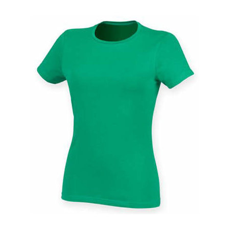 Ladies` Feel Good Stretch T in Green von SF Women (Artnum: SF121