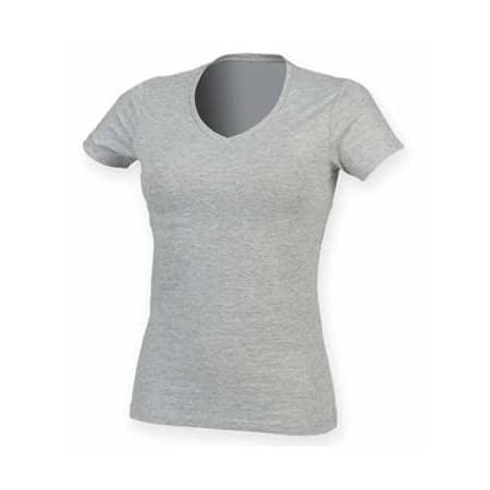 Ladies` Feel Good Stretch V-Neck T von SF Women (Artnum: SF122