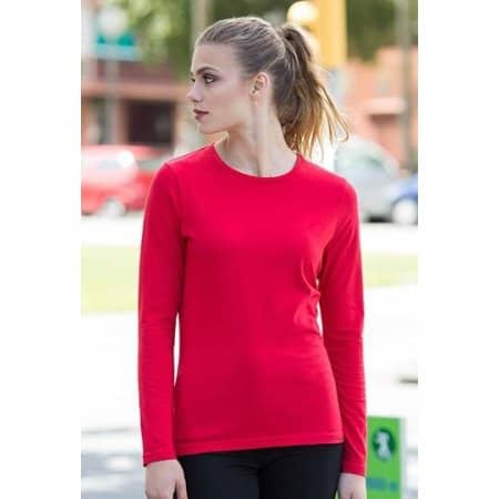 Ladies` Feel Good Long Sleeved Stretch T von SF Women (Artnum: SF124