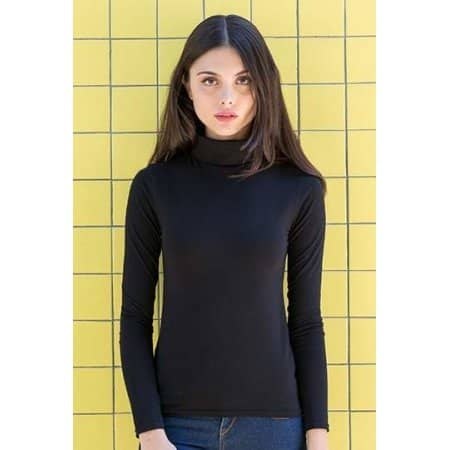 Women`s Feel Good Roll Neck Top von SF Women (Artnum: SF125