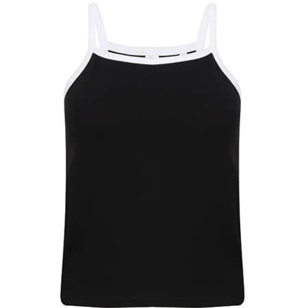 Women`s Feel Good Stretch Contrast Strappy Vest von SF Women (Artnum: SF127